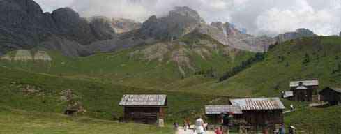 Refugio Contrin - Passo di Valles