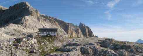 Passo di Valles - Refugio Pedrotti