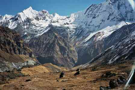 Doban a Base Camp Machhapuchhare
