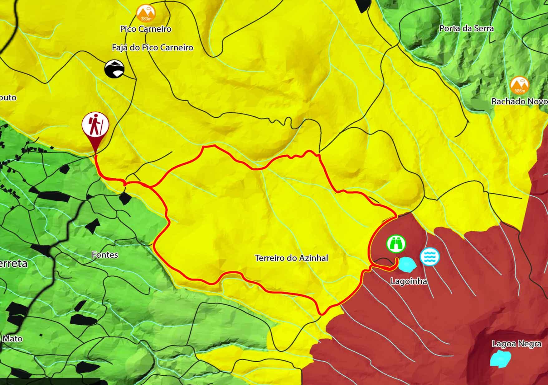 Mapa Serreta