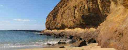 Montañ Amarilla - Playa de la Cocina - La Graciosa