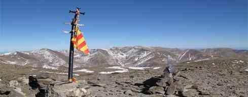 Puigmal desde Nuria