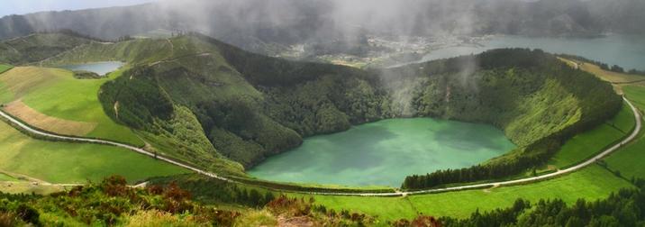 Isla de San Miguel en las Azores