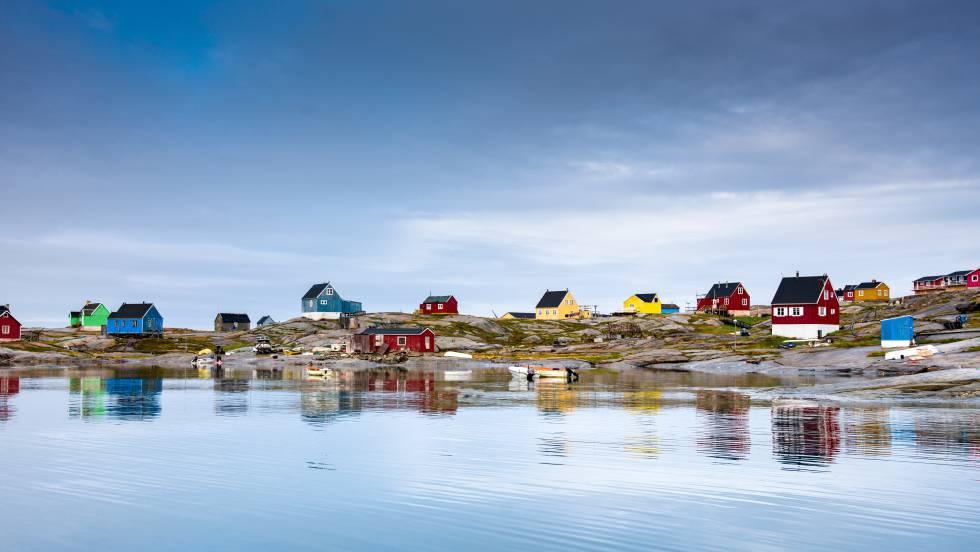 Conociendo Groenlandia en un trineo ecológico