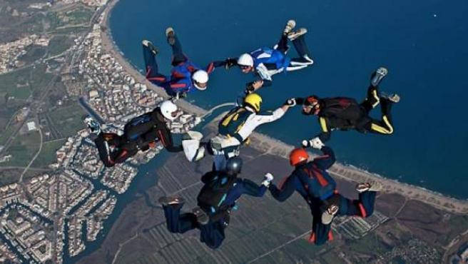 Salto en paracaídas en Empuriabrava