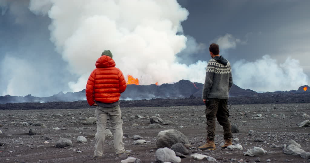 Nueva erupción en Islandia