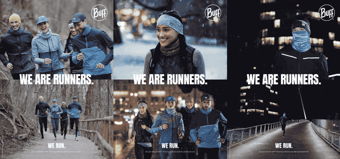 WE ARE RUNNERS. WE RUN