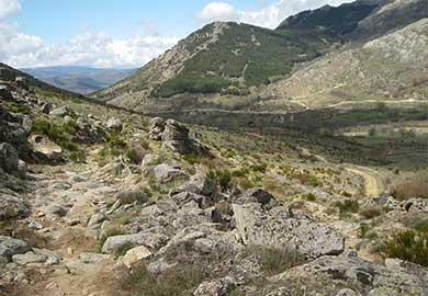 La Calzada Romana y Bardera