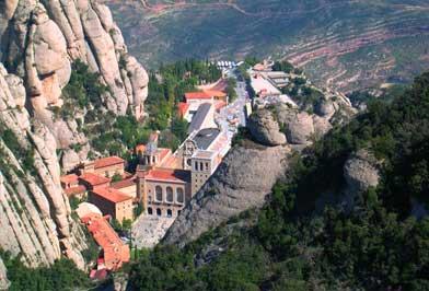 Collbató - Monasterio de Montserrat