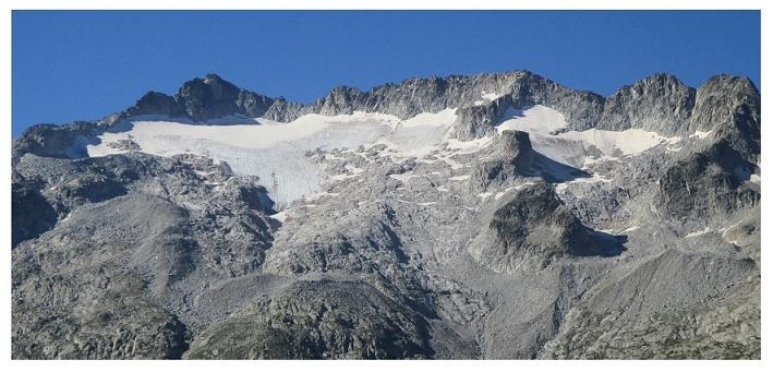 La desaparición del Glaciar del Aneto