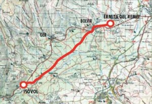 Bolvir de Cerdanya a Isòvol