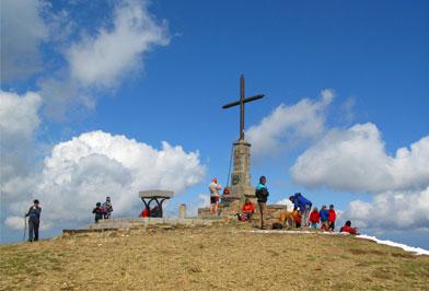 Matagalls desde Sant Marçal Montseny