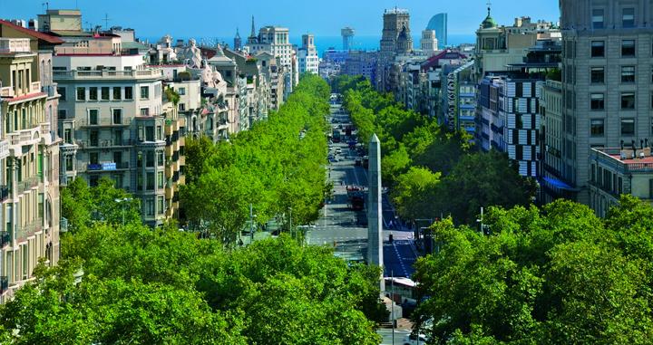 Caminata de Gràcia