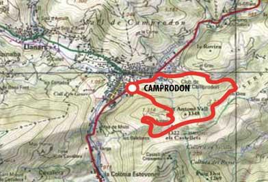 De Camprodon a Sant Antoni