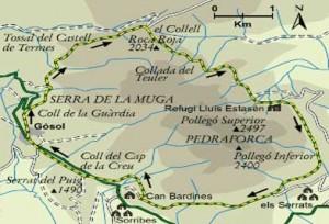 Vuelta al macizo del Pedraforca