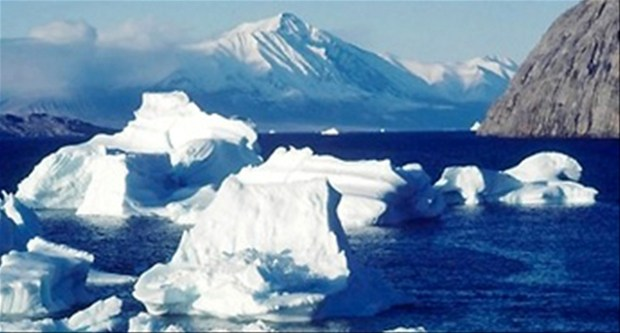Los microbios bajo la Antártida